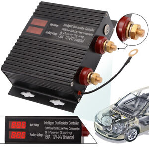 12v 24v Dual Battery System Isolator 150amp Voltage Sensitive Relay Switch Vsr
