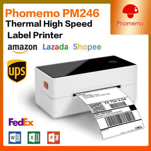 4 6 Shipping Label Printer Commercial Grade Direct Thermal High speed With Usb