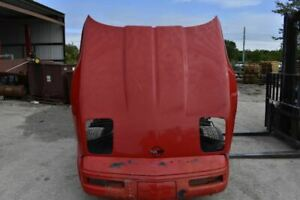 1985 1996 Chevrolet Corvette C4 Cherry Red Hood Assembly Local Pickup Only