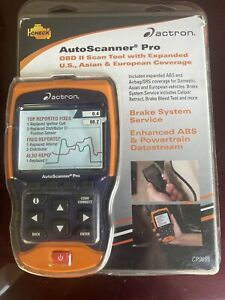 Actron Professional Auto Scanner Code Reader Code Erase Abs Srs Mil Cp9695