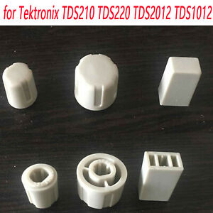 For Tektronix Tds220 Tds101 Tds2012 Tds210 Oscilloscope Power Switch Cover Knobs