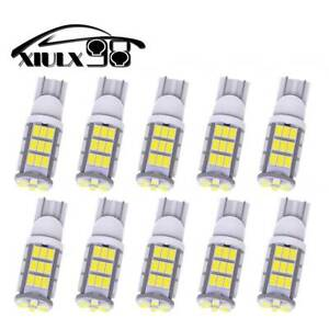 10x T10 W5w 194 168 42smd Led Interior Dome Map License Light Bulbs Pure White