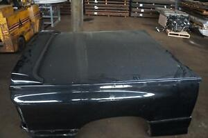 Pickup Box Bed Tonneau Cover Panel W Spoiler Black Dodge Ram 1500 Srt10 2004 06