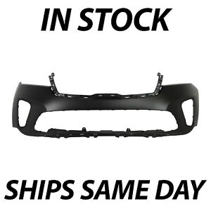 New Primered Front Bumper Cover Replacement For 2019 2020 Kia Sorento 19 20