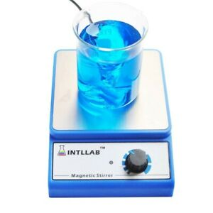 Intllab Magnetic Stirrer Stainless Steel Magnetic Mixer With Stir Bar
