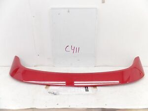 New Oem Spoiler Mazda Rx8 Rx 8 Wing Speed Raised 09 10 11 R2 R3 Red Air Dam