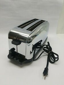 Waring Commercial Toaster Light Duty 4 slice 2 slot Toaster Electronic works