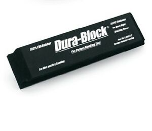 Dura Block Af4418 2 3 Hook Loop Sanding Block 2 5 8 X 11