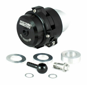Precision Turbo Billet 50mm Blow Off Valve Bov Universal Black With Flange