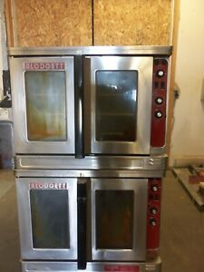 Blodgett Mark V Double Deck Convection Oven 480v 460v Single Three Phase