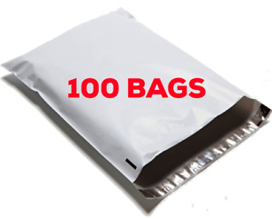 100 4x6 Small Poly Bag Mailer Shipping Mailing Bags Envelopes 4 x6