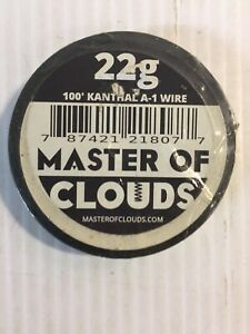 100 Ft Kanthal A 1 Wire 22 Gauge Master Of Clouds