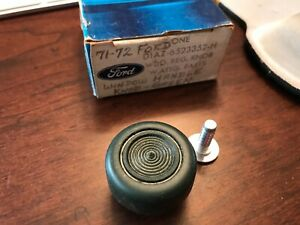 Nos 1970 1971 1972 1973 Ford Mustang Torino Thunderbird Window Crank Knob Green