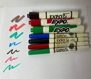 Vintage Expo Dry Erase Sanford Markers Chisel And Fine Point