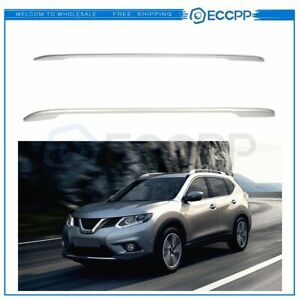 For 2014 2019 Nissan Rogue 14 17 X Trail Top Roof Rack Cross Side Rails Luggage