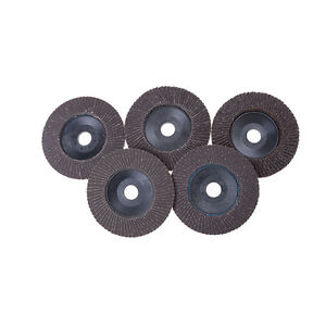New 100mm Flap Sanding Discs 60 320 Grit Grinding Wheels Blades Angle Grin G3