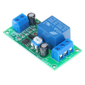 Ne555 Time Delay Relay Dc 12v Trigger Timing Adjustable Time Relay Module G3