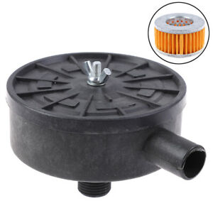 Air Filter Silencer Air Compressor 20mm Male Thread Canister Filter Silencer G3
