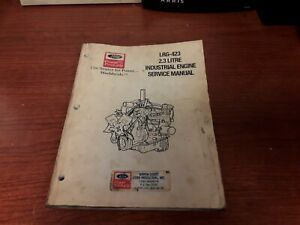 Ford Power Products Lrg 423 2 3 Litre Industrial Engine Service Manual