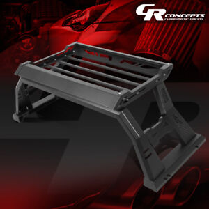 Textured Truck Bed Roll Bar W Baggage Storage Box For 2005 2020 Toyota Tacoma
