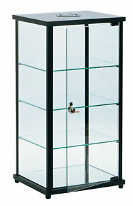 Lighted Glass Countertop Display Case 27 h X 12 d X 14 l