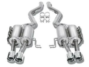 Borla 3 Touring Cat Back Exhaust For 2015 Gmc Denali 6 2l V8