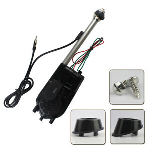 Power Antenna Car Amplifier Aerial Replace Kit Custom Mast Cable Wire Automatic