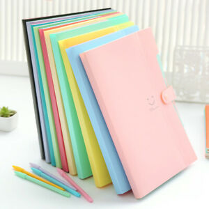 Plastic A4 Paper Expanding File Folder Document Storage Organizer Envelope Cases