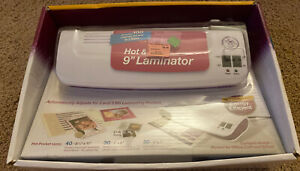 Purple Cows Hot And Cold 9 Laminator Kit new Model 3016c