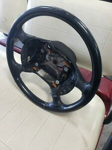 94 98 94 95 96 98 Ford Mustang Cobra Black Leather Wrapped Steering Wheel 734cg
