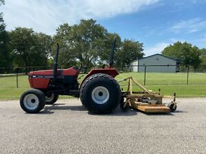 91 Case Ih 275 Farm Tractor With Mower Deck Package Deal Texas