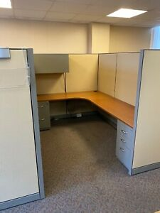 Cubicle partition System By Steelcase Kick 6ft X 8ft X 66 h