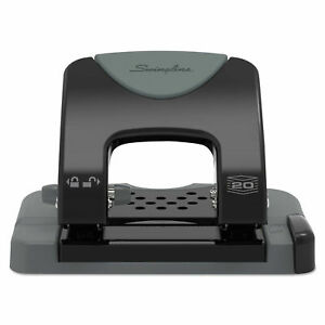Swingline 74135 20 sheet Smarttouch Two hole Punch 9 32 Holes swi74135