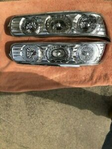 1994 2001 Acura Integra 2dr Tail Lights W Chrome Housing Red Led Ring