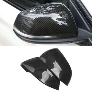For Bmw X1 F48 2016 2020 Car Side Rearview Mirror Cover Half Top Cap Frame