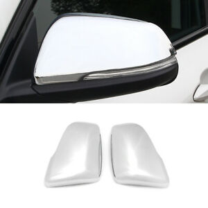 For Bmw X1 F48 2016 Car Side Rearview Mirror Cover Half Top Cap Frame Chrome