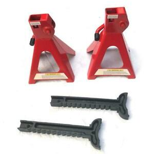 1 Pair Of 2 Ton Jack Stands Red Brand New And High Quality
