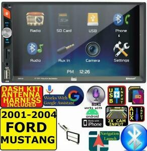 2001 2004 Ford Mustang Bluetooth Usb Sd Aux Car Radio Stereo W Screen Mirror