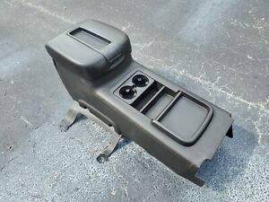 2007 2014 Chevy Silverado Gmc Sierra Lt2 Floor Center Console Sle Black Ebony Oe