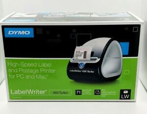 Nib Dymo Labelwriter 450 Turbo Thermal Label Printer 1752265 free Shipping