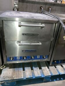 Bakers Pride Dp 2 Brick Lined Electric Double Countertop Oven