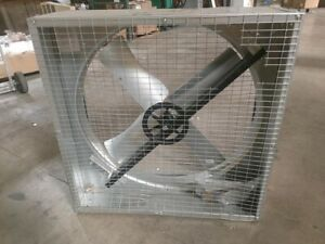 Dayton Belt Drive Less Motor Agricultural Exhaust Fan 36