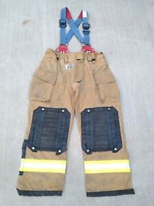 Morning Pride Fire Fighter Turnout Pants Size 40 X 31 Bunker Gear Apparel 2013 X