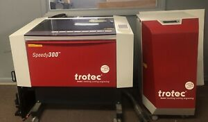 Trotec Speedy 300 Laser Engraving Machine 80 Watts Lightly Used