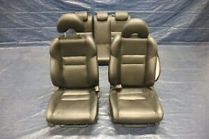 2006 11 Honda Civic Si Coupe K20z3 Leather Front Rear Seat Set damage 9377