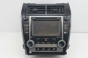 2012 2013 2014 Toyota Camry Touch Screen Navigation Gps Hd Radio Cd Player