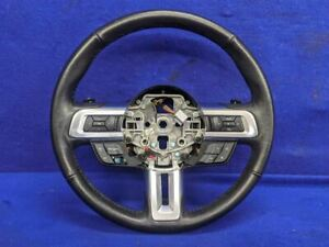 2015 2017 Ford Mustang Gt Ecoboost Auto 6r80 Leather Steering Wheel Assembly Oem