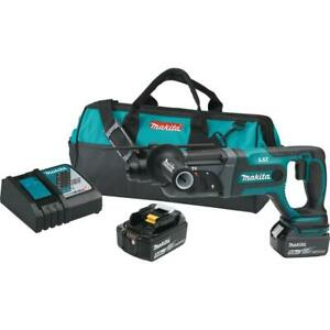 Makita xrh04t 18 Volt Lxt Lithium ion Cordless 7 8 In Sds plus Rotary Hammer