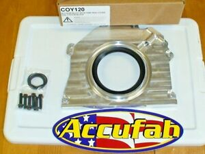 Accufab Billet Rear Main Seal Cover For 2011 17 Mustang Gt 5 0 Dohc 4v Coyote