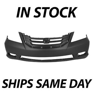 New Primered Front Bumper Cover Fascia For 2008 2009 2010 Honda Odyssey Touring